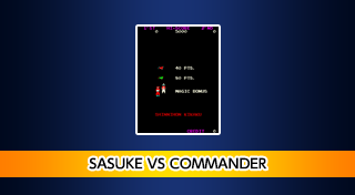 Arcade Archives - Sasuke VS Commander