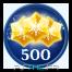 Obtiens 500 étoiles