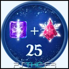 25 icebergs