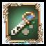 Une épée en or